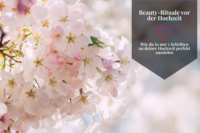 Beauty-Rituale vor der Hochzeit