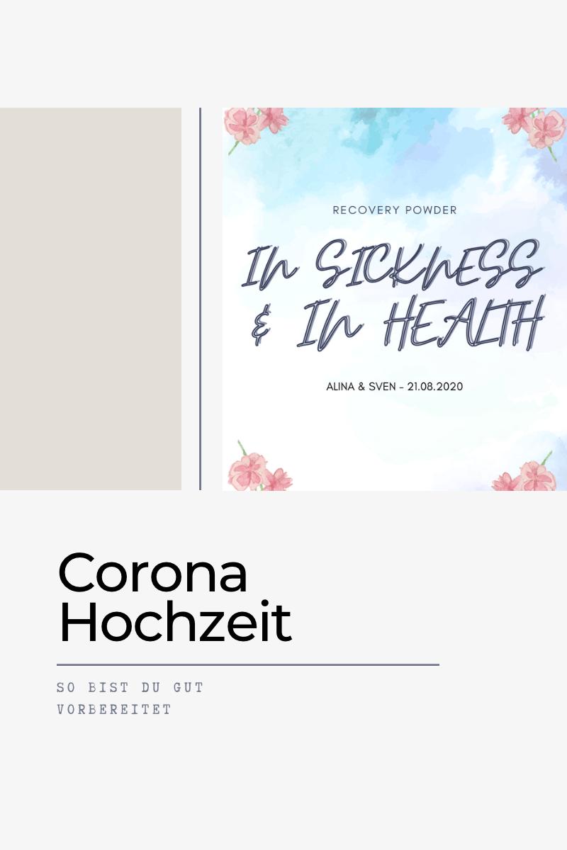 Corona Hochzeit – so bist du gut vorbereitet