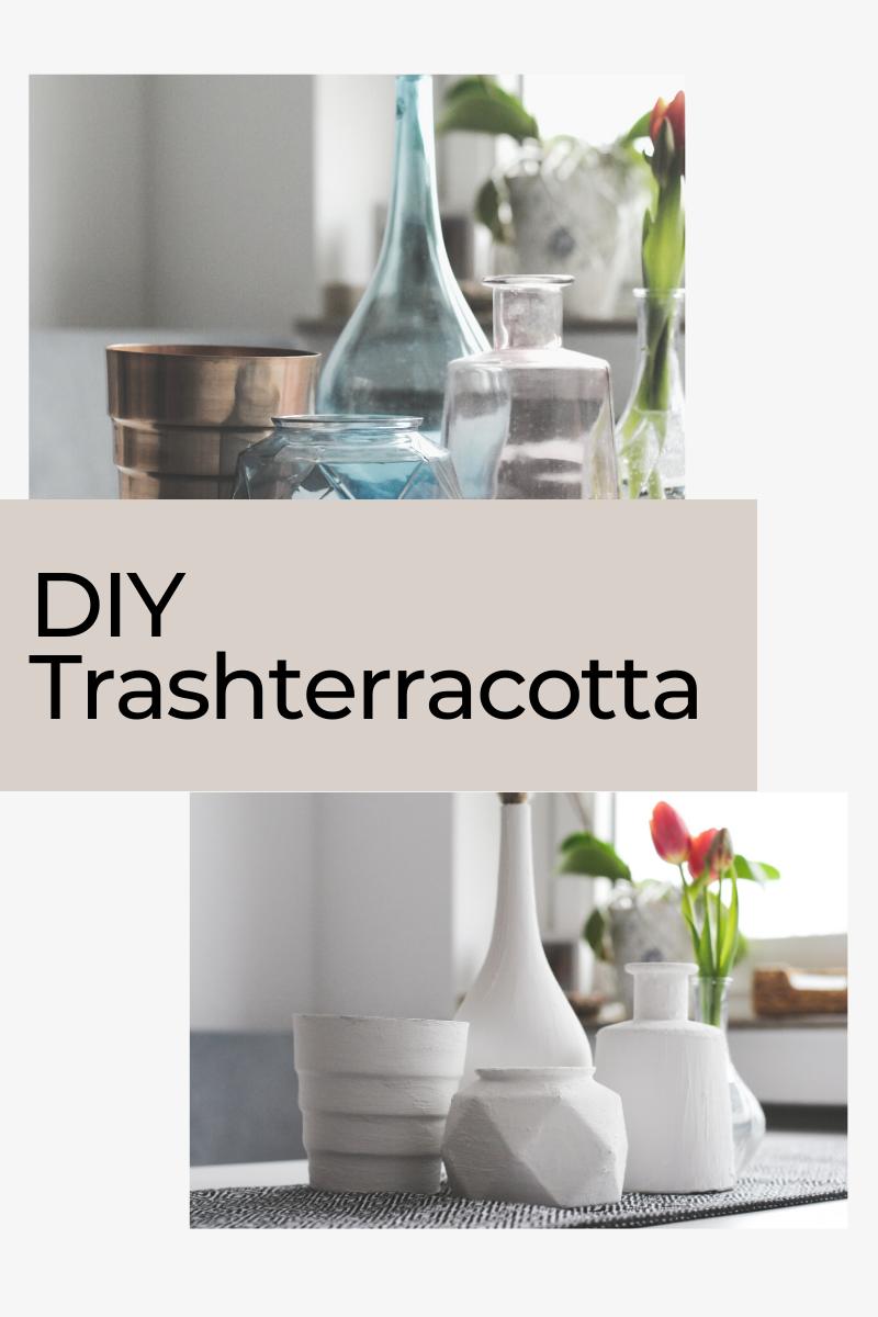 Trashterracotta – Vasen im natürlichen Terracotta Look